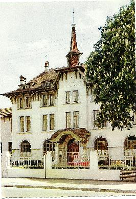 Carte postale Thonon College - v.1966